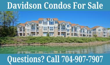 Davidson Condos For Sale