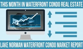 Lake Norman waterfront condo market update